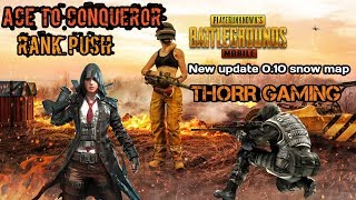 PUBG MOBILE LIVE |AIRDROP HUNTING  | SEROUS GAMEPALY || THORR GAMING