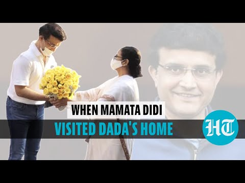 Sourav Ganguly birthday: Mamata brings flowers; how Sachin and Sehwag wished former captain