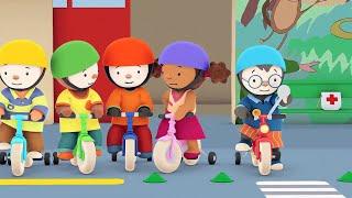 T'choupi à l'école - Le vélo rouge tout neuf (EP.5)