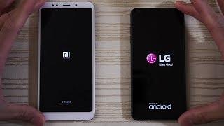 Xiaomi Redmi 5 Plus vs LG G6 - Speed Test!