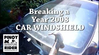 How Easy it is to Break a Car Windshield