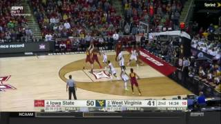 Iowa State 80, West Virginia 74 (Big 12 Championship)