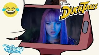 Ducktales | Webby Reacts to Zombies, Descendants, Andi Mack and Raven's Home! | Disney Channel UK