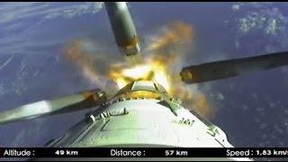 Soyuz Launch [Onboard Camera!]