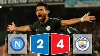 Kết quả bóng đá Napoli vs Man City 2-4 ngày 2/11/2017 (Champions League 2017/18)