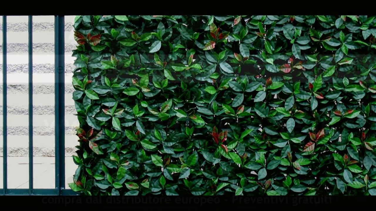 Mobili lavelli siepe finta per recinzioni for Piante artificiali leroy merlin