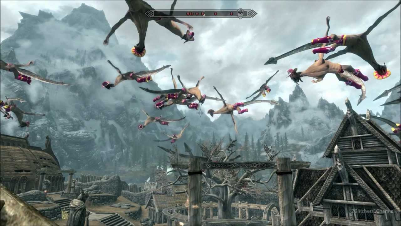 Skyrim: Kill Dragons in the Great Craggy North (Special Edition Now