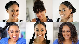 Tia Mowry's Best Hair Extension Styles | Quick Fix