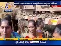 Local People Protest Against Forest Officials Actions | at Gunjedu in Mahabubabad Dist