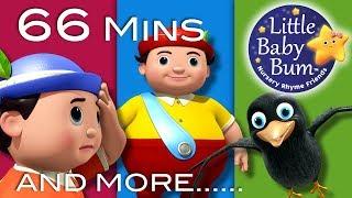 Tweedledum And Tweedledee | Plus Lots More Nursery Rhymes | 66 Mins Compilation from LittleBabyBum!