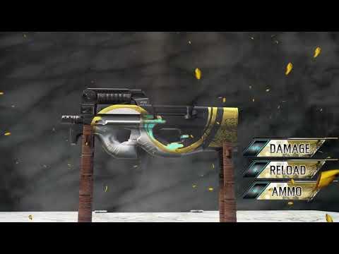 Novo Arma Royale da P90 Fantasma