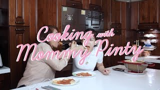 "Cooking ""Spaghetti Ala Mommy Pinty Style"" By Alex Gonzaga"