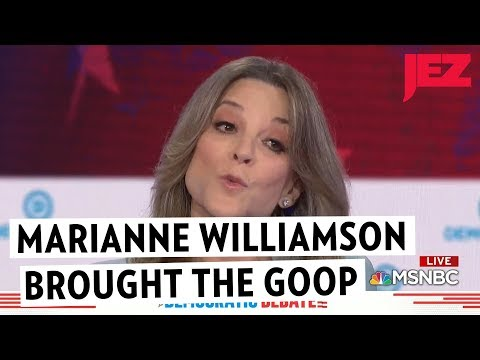 Marianne Williamson Brought the Goop
