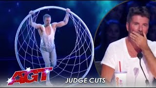 Matthew Richardson: Hoop Act EMOTIONAL Tribute To His Late Dad   America's Got Talent 2019