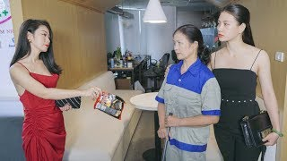 Con Gái Nữ Chủ Tịch Giúp Đỡ Cô Lao Công Dạy Cho Kẻ Khinh Thường Người Lao Động Nghèo Bài Học Nhớ Đời