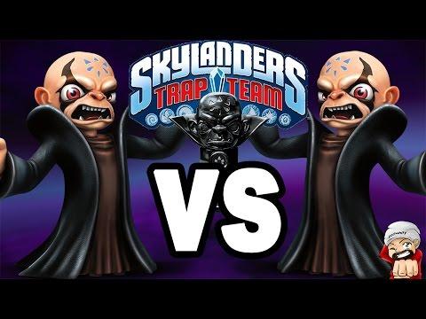 Skylanders Trap Team The Golden Queen VS Kaos (Boss Battle ...