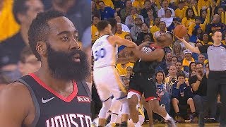 James Harden Dirty Play Attempt On Draymond & Chris Paul Embarrassing Flop On Curry In Game 5!