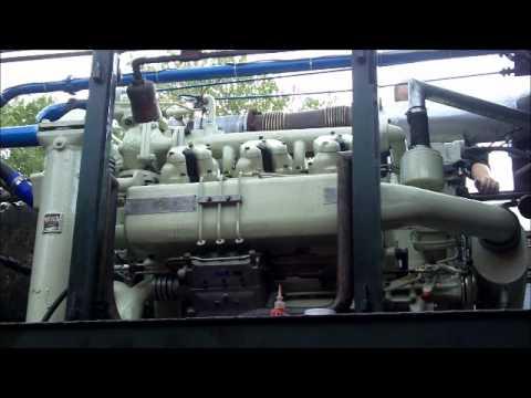 Paxman 6YJ Diesel Engine -Tenterden Railway