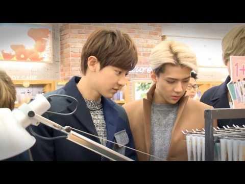EXO - Nature Republic Official Fan Sign Meeting [HD]