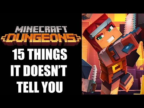 15 Beginners Tips And Tricks Minecraft Dungeons Doesn't Tell You