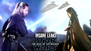 INSANE The Rise Of Skywalker Leaks Revealed! Star Wars Episode 9 Spoilers)
