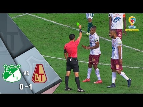 Deportivo Cali vs Deportes Tolima