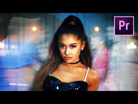 FAST MOTION EFFECTS from Ariana Grande in PREMIERE PRO