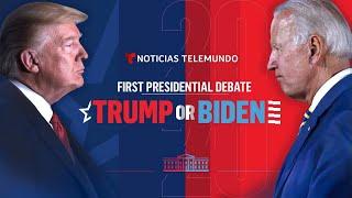 The First 2020 Presidential Debate: Joe Biden & Donald Trump (Full Debate - ENGLISH)