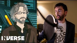 gen:LOCK - David Tennant on voicing his new character Dr. Weller