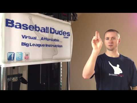 "Baseball Dudes Video Tip w/ Chris Gissell ""The Cutter"""