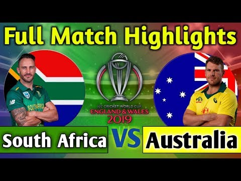 Australia vs South Africa full match highlights | AUS vs SA match 2019 highlights
