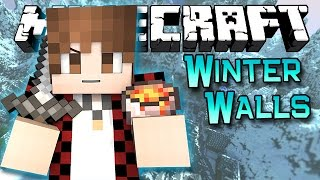 Minecraft: Epic Christmas Tree Winter Walls Challenge! PVP Mini-Game!