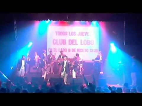 Los Ángeles Azules - En vivo en el Club Del Lobo *Cumbia Explosion I* 2012-02-20