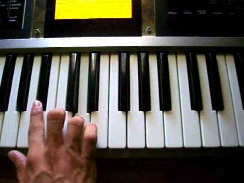 Mi Caballito - Fito Olivares Piano tutorial