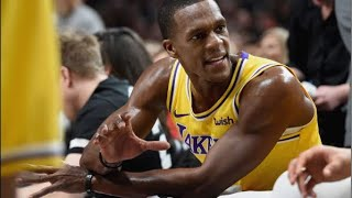 BREAKING NEWS! LAKERS POINT GUARD RAJON RONDO OUT FOR A MONTH (SURGERY) (REPORT)