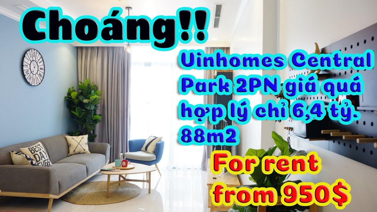 Cần bán gấp căn hộ chung cư Vinhomes Central Park 2PN, sở hữu vĩnh viễn, 5,2 tỷ liên hệ 0967303043 video