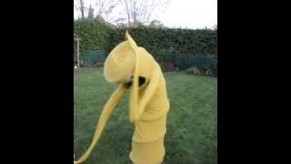 Wacky waving inflatable arm flailing tube man costume