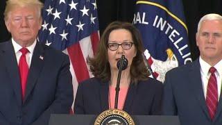 Gina Haspel sworn in as new CIA Director