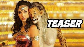 Wonder Woman 2 Official Teaser - Steve Trevor Scene Explained