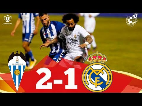 RESUMEN | CD Alcoyano 2-1 Real Madrid CF | Dieciseisavos de final de la Copa del Rey