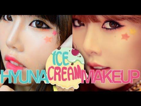 【BrenLui大佬B】HyunA Ice Cream MV Makeup 김현아 泫雅化妝