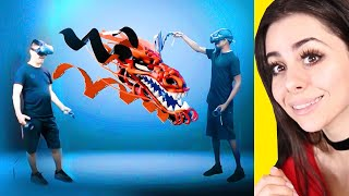 People Doing ART IN VIRTUAL REALITY !