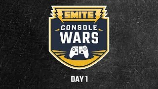 Smite Console Wars @ Dreamhack 2018: Astral Authority vs. InControl (Game 1)