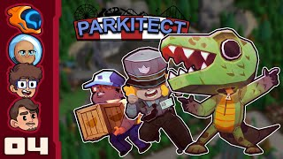 Queues Are Cruise Control For MAXIMUM IMMERSION - Let's Play Parkitect [Multiplayer] - Part 4