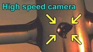 High speed camera reveals water-vacuum shockwave!