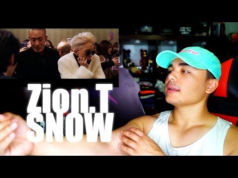 Zion.T – '눈(SNOW) (feat.이문세) MV Reaction
