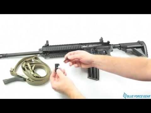 How to fully attach a sling to a HK M27 Infantry Automatic Rifle