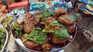 Pha ngen street food - thai food in bangkok street food ( ตลาดพระเงิน )