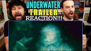 UNDERWATER | TRAILER - REACTION!!!