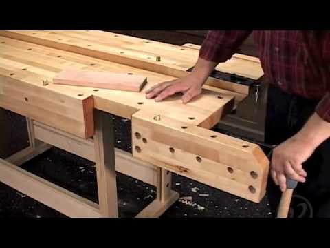 Veritas® Quick Release Front Vise - YouTube